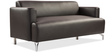 Windsor Three Seater Sofa in Dark Brown Colour by Durian