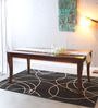 Mapleton Four Seater Dining Table in Provincial Teak Finish by Amberville