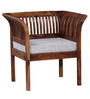 Willingdon One Seater Sofa in Provincial Teak Finish by Amberville