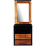 Forks Dressing Table in Dual Tone Finish by Woodsworth