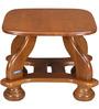 Winston Corner Table in Wenge Colour by Nilkamal