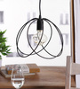 Winwood Cage Pendant in Black by Bohemiana