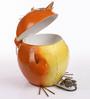 Wonderland Angry Bird Dustbin in Orange
