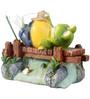 Wonderland Mini Fishing Frog Dcor