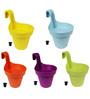 Wonderland Set of 5 : Railing Buckets in Blue, Green ,yellow, Purple, Orange