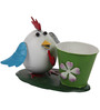 Wonderland Small Size White Hen with Pot