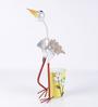 Wonderland White Crane Planter