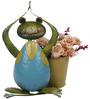 Wonderland Yoga Frog with Pot