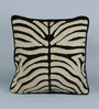 Woodson Black Cotton Velvet & Wool 18 x 18 Inch Cushion Cover - Set of 2