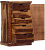 Woodway Chest of Drawers in Provincial Teak Finish by Woodsworth