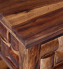 Woodway Console Table in Provincial Teak Finish by Woodsworth