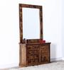 Woodway Dressing Table in Provincial Teak Finish by Woodsworth
