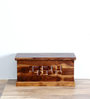 Woodway Trunk in Provincial Teak Finish by Woodsworth
