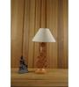 Woody Lamp House Khadi Poly Cotton Table Lamp