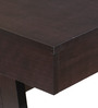 Chikato Study Table in Cappuccino Finish by Mintwud