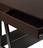 Chikato Study Table in Wenge Finish by Mintwud