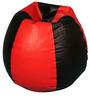 XXL Bean Bag Cover in Black N Red Colour by ARRA