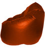 XXXL Bean Bag Sofa (Only Cover) in Orange Colour by Feel Good