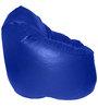 XXXL Bean Bag Sofa (With Beans) in Blue Colour by Feel Good