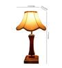 Yashasvi Lotus Cream Wooden Table Lamp