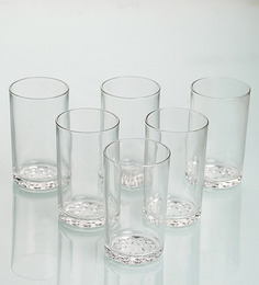 Yera Epitome Glass 244 ML Tumbler - Set Of 6