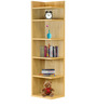 Yuna Book Shelf in Oak Finish by Mintwud