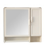 FesnoKing Bathroom Cabinet in Cream by CasaCraft
