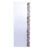 Zahab Brown Glass Waves Wall Mounted Decorative Mirror