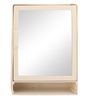 Giovanni Bathroom Cabinet in Cream by CasaCraft