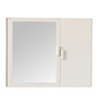 Andorra Bathroom Cabinet in White by CasaCraft