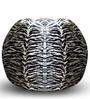 Zebra Printed Classic Bean Bag (Cover Only) XXXL size in Colour  by Style Homez