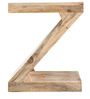 Zee End Table in Brown Colour by InLiving