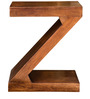 Zee End Table in Walnut Colour by InLiving