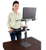 ZEN Desk 2.0 Ergonomic Height Adjustable Standing Desk for Healthy Lifestyle by Fitizen