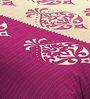Zesture Bring Home Pink Double Bed Sheet Set