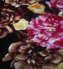 Zesture Bring Home Multicolor Polyester Floral 90 x 90 Inch Double Bed Blanket