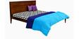 Ziesta Neo High Density (HD) 5 Inches King Size Foam Mattress in MultiColour by Godrej Interio