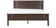 Zina Queen Bed in Walnut Finish by HomeTown
