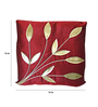 Zikrak Exim Red Polyester 16 x 16 Inch Cushion Covers - Set of 5