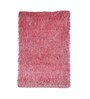 Zila Home Pink Polyester Shaggy Area Rug