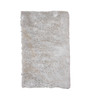 Zila Home White Polyester Shaggy Area Rug