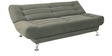 Zuri supersoft Sofa bed in Green colour by Furny