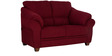 Zurich Delight Two Seater Sofa in Dark Maroon Colour by Urban Living