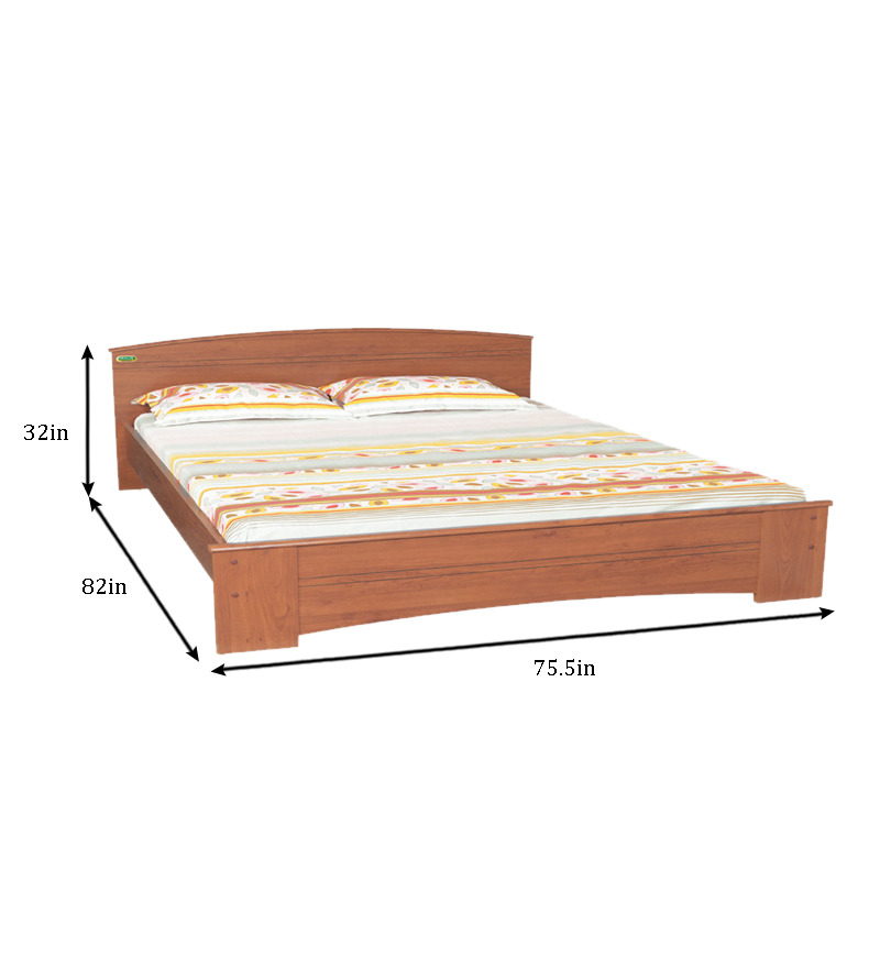 Buy zuari optima king size bed online king sized beds for Buy king bed online