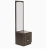 Zurina Dressing Table with Stool in Wenge Colour by Godrej Interio