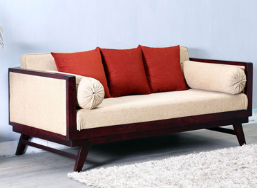 Solid wood sofas