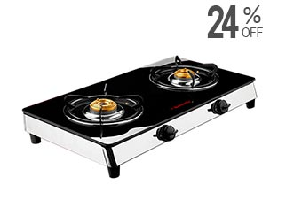 Butterfly 2 Burner Cooktop
