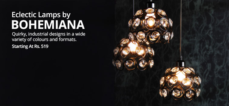 Eclectic Lamps by Bohemiana