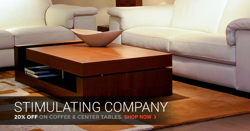 Stimulating Company | 20% Off on Coffee & Center Tables