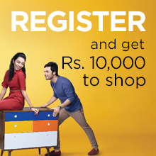REGISTER and get Rs.10,000 to shop